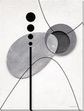 Levitating Elements II Reproduction sur toile tendue par K. Kostolny