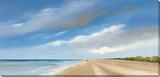 The Ocean & My Desire Sträckt Canvastryck av Hans Paus