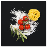 Cucina Italiana Pasta Plakater af Uwe Merkel