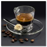 Delicate Espresso With Amarettini Poster by Uwe Merkel