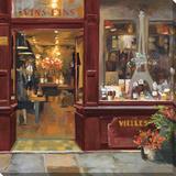 Parisian Wine Shop II Stampa su tela di Marilyn Hageman