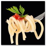 Spaghetti On Fork With Basil - Tablo