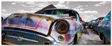 Vintage Car Is Rusting Posters