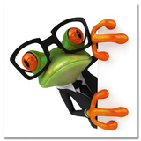 Business Frog Posters