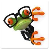 Business Frog Prints