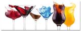 Splashing Cocktails Posters
