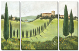 My Tuscany 3 Piece Set Posters par C. Ancilotti