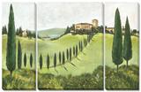 My Tuscany 3 Piece Set Kunstdrucke von C. Ancilotti