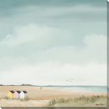 The Beach & Nothing Else I Reproduction sur toile tendue par Hans Paus