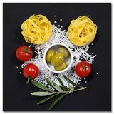 Cucina It Pomodori E Spaghetti II Print by Uwe Merkel