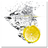 Healthy Lemon Poster