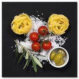Cucina Ita.Pomodori E Spaghetti I Poster af Uwe Merkel