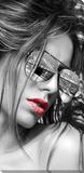 Girl NYC Lærredstryk på blindramme