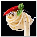 Uwe Merkel - Spaghetti On Fork With Chili - Reprodüksiyon