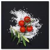 Cucina Italiana Pomodori Poster von Uwe Merkel