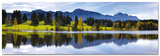 Panorama Landscape in Bavaria - Art Print