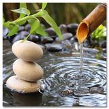 The Impact Of Water & Stones Sztuka