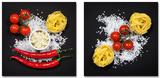Set Buona Cucina Italiana Prints by Uwe Merkel