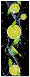 Splashing Lime Poster