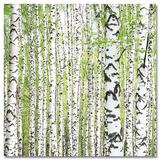 Birch Grove III - Poster