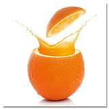 Fancy Orange Poster