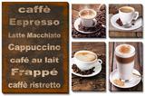 Coffee 5 Piece Set Poster