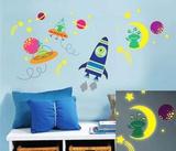 Galaxy Glow Adhésif mural
