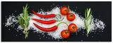 Cucina Italiana Aroma Kunstdruck von Uwe Merkel