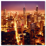High Above Chicago Prints