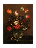 Vase of Flowers, 1650 Metal Print by Antonio Ponce