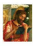San Zeno Altarpiece (Le Retable de San Zeno) (Detail) Metal Print by Mantegna Andrea