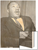 Martin Luther King, 1960 Wood Print