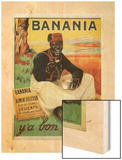 Y'a Bon Banania, 1915 Wood Print by Alexandre de Andreis