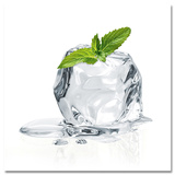 Mint Ice Cube Plakat