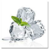 Three Mint Ice Cubes Plakater