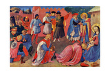 Adoration of the Magi, 1433 Metal Print by  Fra Angelico