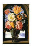 Bouquet of Flowers, 1620-1 (Bouquet de Fleurs) Metal Print by Ambrosius Bosschaert