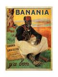 Y'a Bon Banania, 1915 Metal Print by Alexandre de Andreis