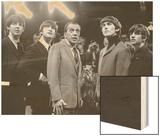 The Beatles and Ed Sullivan, 1965 Wood Print
