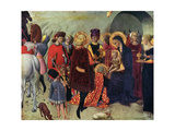 Adoration of the Magi Metal Print by  Sassetta