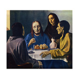 The Disciples of Emmaus (Les Disciples d'Emmaus) Pósters por Han Van Meegeren