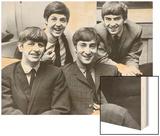 The Beatles, 1965 Wood Print