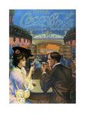 Coca-Cola, 1903 Lærredstryk på blindramme