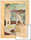 Luxe I, 1907 Wood Print by Henri Matisse