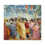 The Betrayal of Judas (Le Baiser de Judas) Póster por Giotto di Bondone