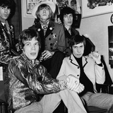 Rolling Stones, 1966 Stretched Canvas Print