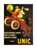 Automobile Unic, 1910 Metal Print by Jean-marie Michel Liebaux