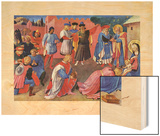 Adoration of the Magi, 1433 Wood Print by  Fra Angelico