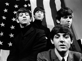 The Beatles in America, 1965 Stretched Canvas Print
