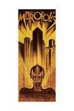 Metropolis, 1926 Metal Print by  Schulz-Neudamm